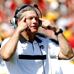 """Not Iowa State again..."" ISU has been giving Ferentz headaches for 13 years. He is 6-7 against the Cyclones."